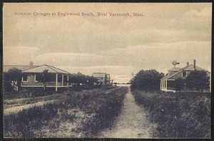 Summer cottages at Englewood Beach, West Yarmouth, Massachusetts