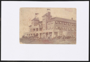 Aberdeen Hall, Great Island, West Yarmouth, Mass.