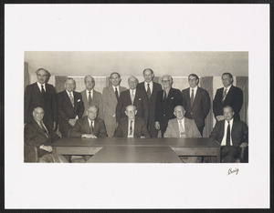 Officers and directors of First National Bank of Yarmouth, Mass. circa 1950