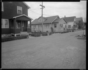 #16 Pagum St. looking SWly from northernly side of st., Dec. 9, 1936