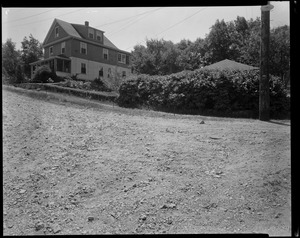 #101 Williams St. view looking SEly from junction of Rudolph and Williams Streets, July 7, 1936