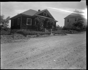 #110 Williams St. view looking NEly from street, July 7, 1936