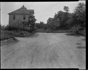 #118 Williams St. view looking easterly from in front of #110, July 7, 1936