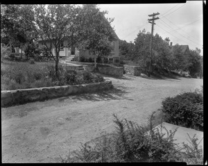 #115 Williams St. view looking westerly from street, July 7, 1936