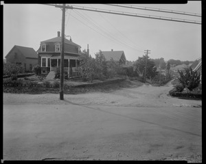 #1291 Salem St. view looking SEly from junction of Brentwood St. and Salem St., July 18, 1936
