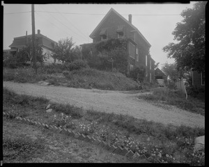 #12 Brentwood St. view looking easterly from street, July 18, 1936