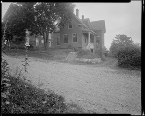 #16 Brentwood St. view looking easterly from street, July 18, 1936