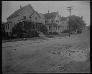 #16 + #22 Gordon St. view looking NEly, Sept. 23, 1933