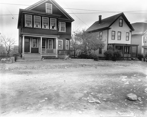 #12 and 18 Marshall St. looking Nly, Nov. 1, 1935