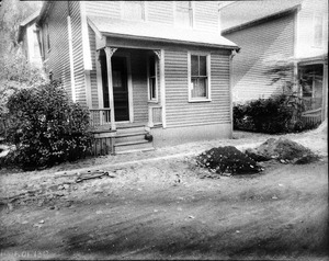 #15 Highland Ct. looking NWly from street, Oct. 16, 1935