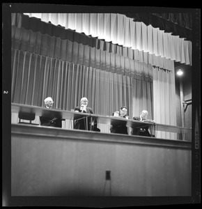 Annual Barnstable Town Meeting, March 1962.