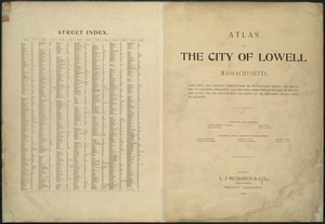 Atlas of the City of Lowell, Massachusetts