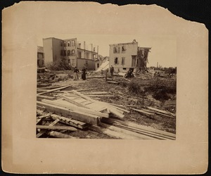 After the cyclone, Lawrence, Mass., 1890