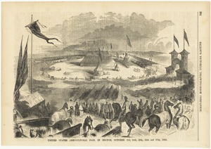 United States Agricultural Fair, in Boston, October 23d, 24th, 25th, 26th, and 27th, 1855