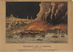 The Great Fire at Boston, November 9th and 10th, 1872.