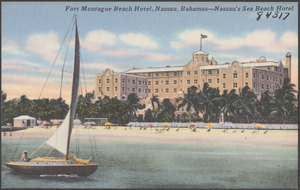 Fort Montague Beach Hotel, Nassau, Bahamas - Nassau's sea beach hotel