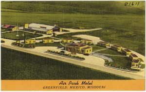 Air Park Motel, Greenfield, Mexico, Missouri