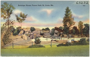 Antelope House, Forest Park, St. Louis, Mo.