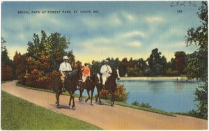Bridal Path at Forest Park, St. Louis, Mo.