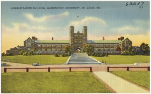 Administration building, Washington University, St. Louis, Mo.