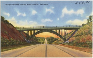 Dodge Highway, looking west, Omaha, Nebraska