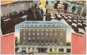 The American Legion Building, 2027 Dodge Street, Omaha, Nebraska. The world's largest Legion Post