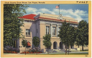 Clark County Court House, Las Vegas, Nevada