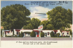 Gateway Auto Court, south on U.S. 91 - 466, Las Vegas, Nevada