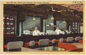 Gay 90's Bar, Hotel Last Frontier, Las Vegas, Nevada
