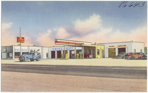 McNeil Buick Sales & Service, Deming, New Mexico. 24 hour wrecker service, standard oil products
