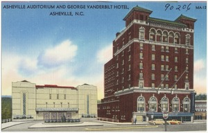Asheville Auditorium and George Vanderbilt Hotel, Asheville, N.C.