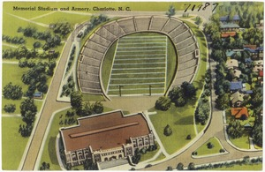 Memorial Stadium and Armory, Charlotte, N. C.