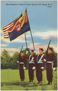 82nd Airborne Colors & Color Guard, Fort Bragg, N. C.