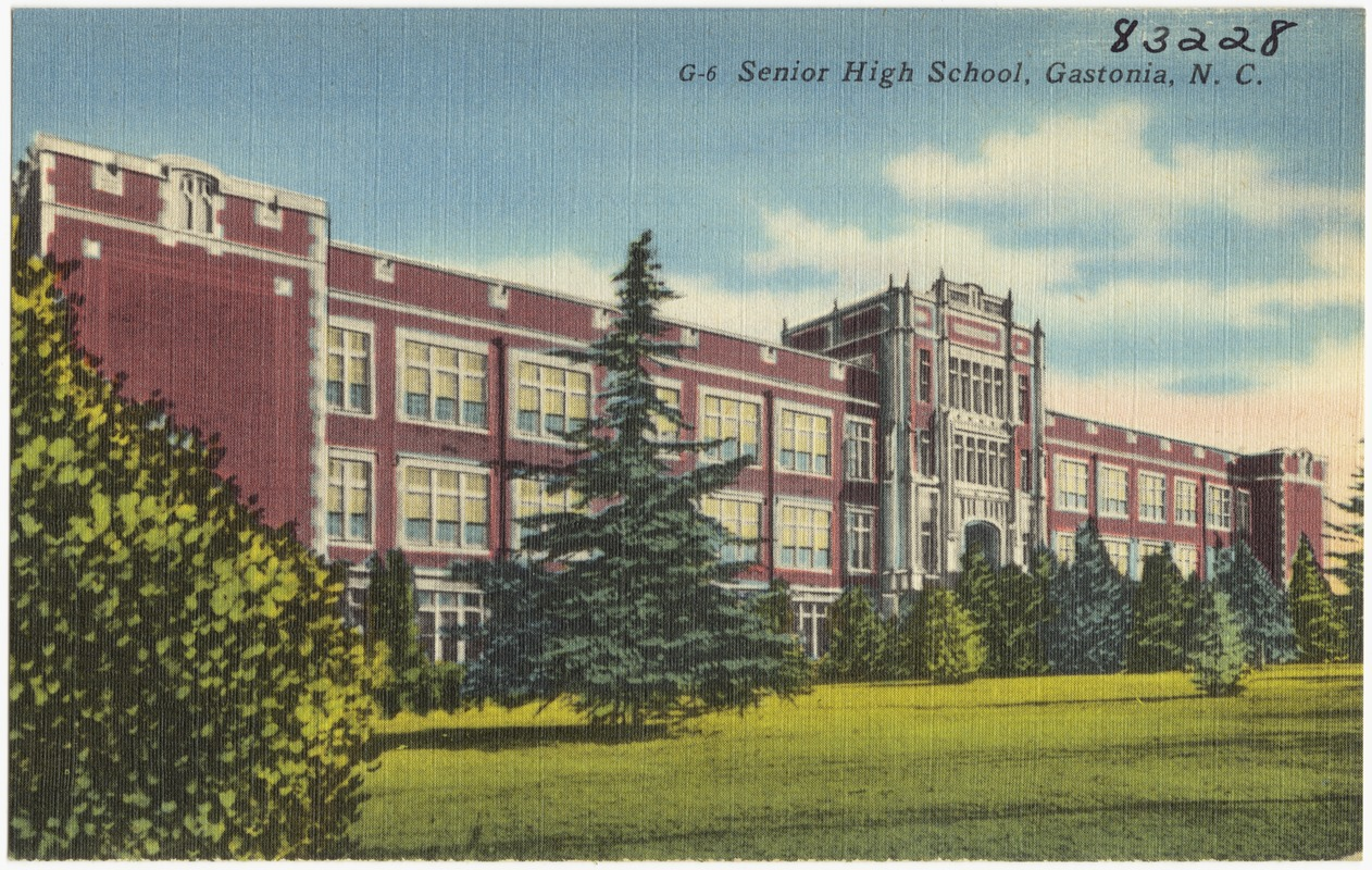 Senior High School, Gastonia, N. C.