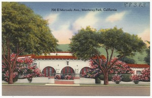 700 El Mercado Ave., Monterey Park, California