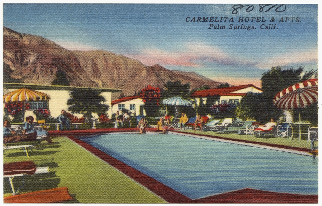 Carmelita Hotel and Apts., Palm Springs, Calif.