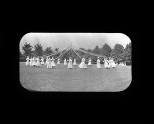 Maypole Dance, Overbrook School for the Blind, ca. 1909