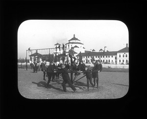 Playground, Overbrook School for the Blind, ca. 1905