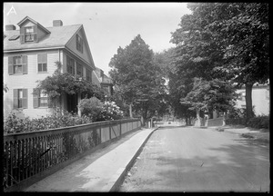 Jamaica Plain, Massachusetts. Myrtle Street