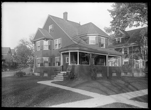 Jamaica Plain, Massachusetts. Stanley residence, 1021 South St.