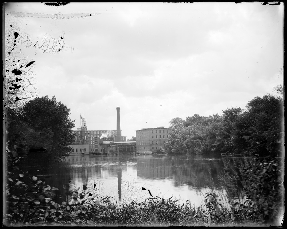 Rear of mill from cove