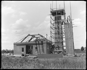 BWW  (Billerica Water Works) pumping station during construction