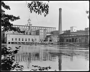 Boiler house and middle ell construction from Faulkner's side
