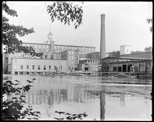 Boiler house and middle ell construction foundation from Faulkner's side