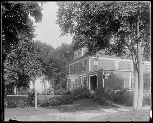 #4 Talbot Avenue, 1904 prize contest, rear, fall