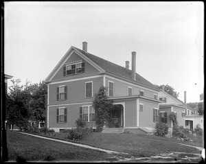 #12 Talbot Avenue, 1904 prize contest, rear, fall