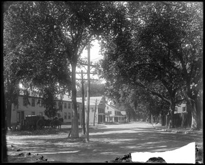 Elm Street, looking southwest from in front of #7 storehouse