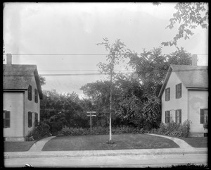 #11 Lowell Street, front view showing lawn