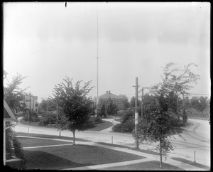 Oval from front window of #12 Talbot Avenue