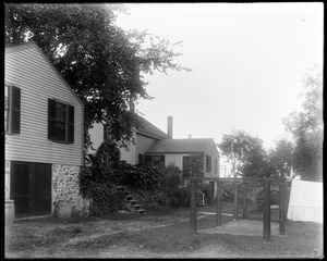 #11 and #13 Wilson Street, rear view